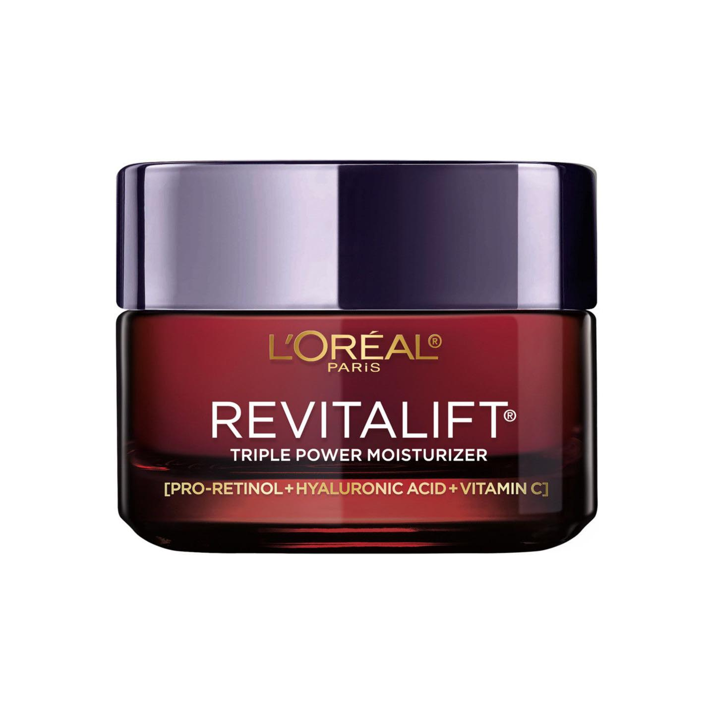 L'Oreal Revitalift Triple Power Anti-Aging Moisturizer