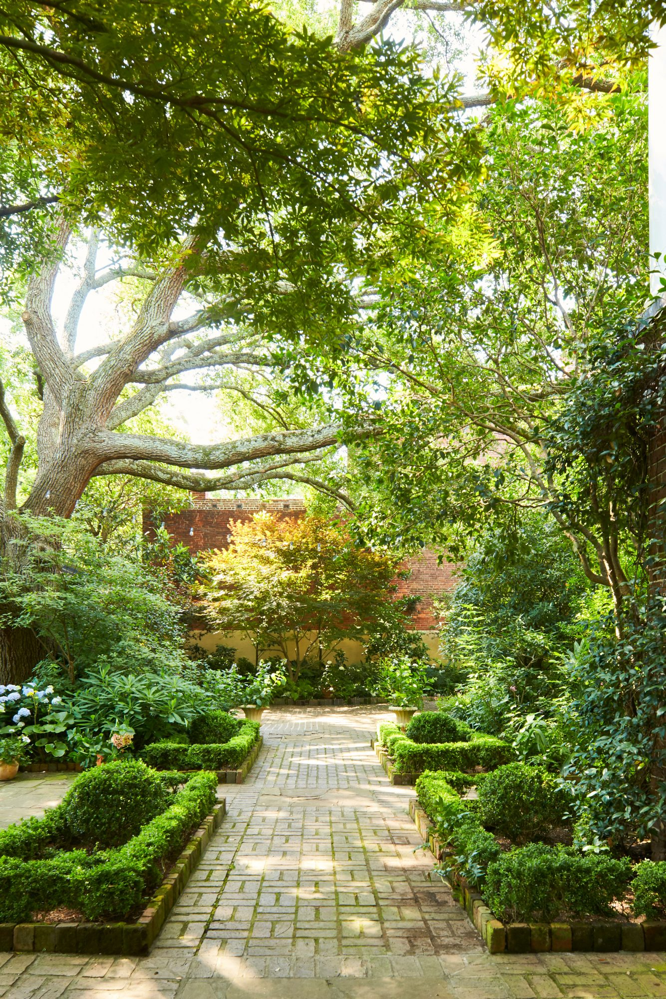 Formal Charleston Garden Courtyard