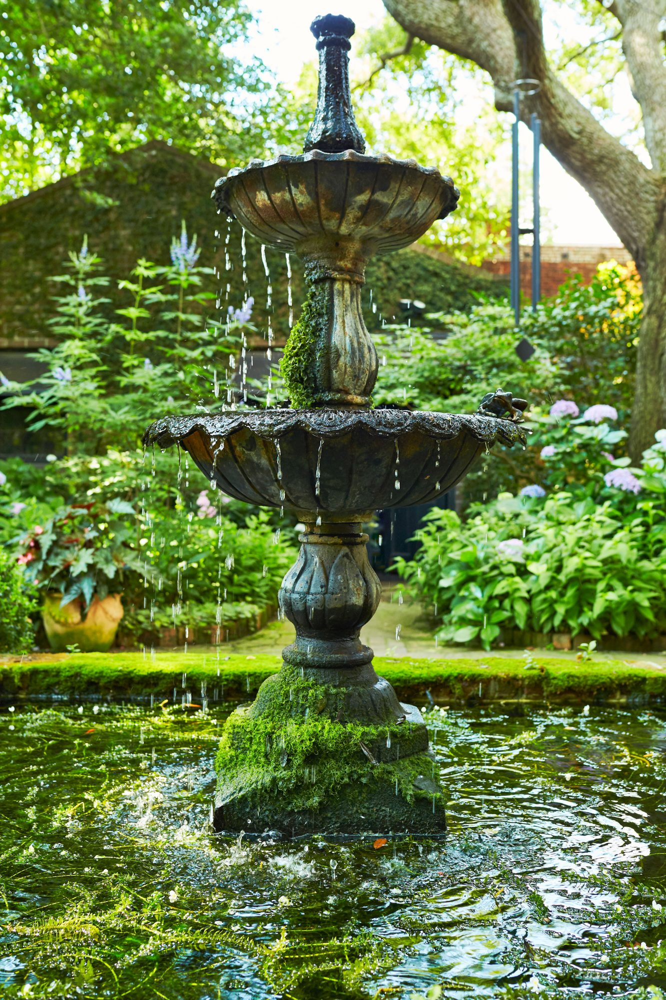 Charleston Garden Fountain