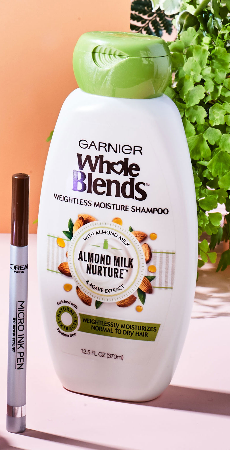 Garnier Whole Blends Almond Milk Nurture Shampoo