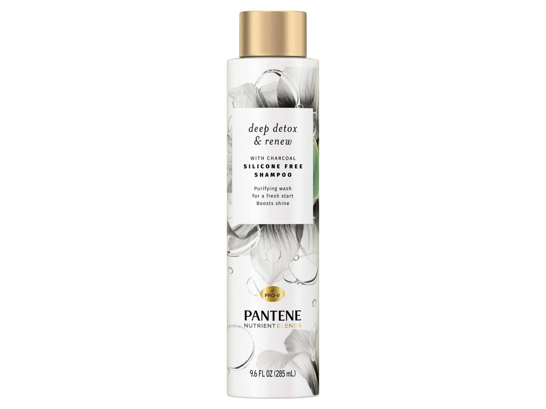 Pantene Blends Detox & Renew With Charcoal Shampoo