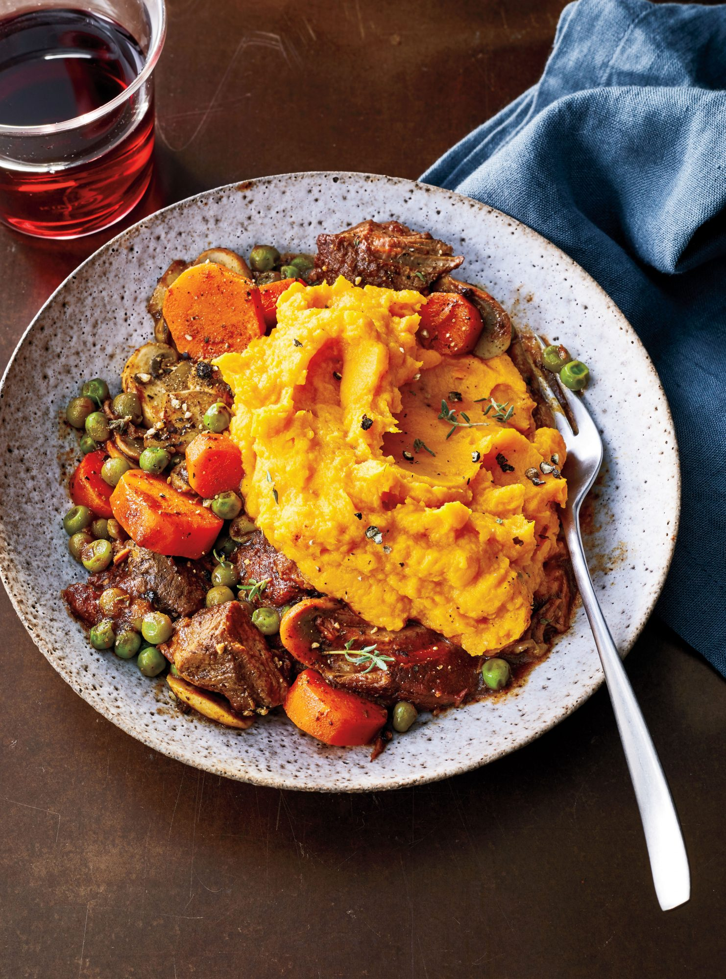 Shepherd's Pie with Sweet Potato Mash Recipe