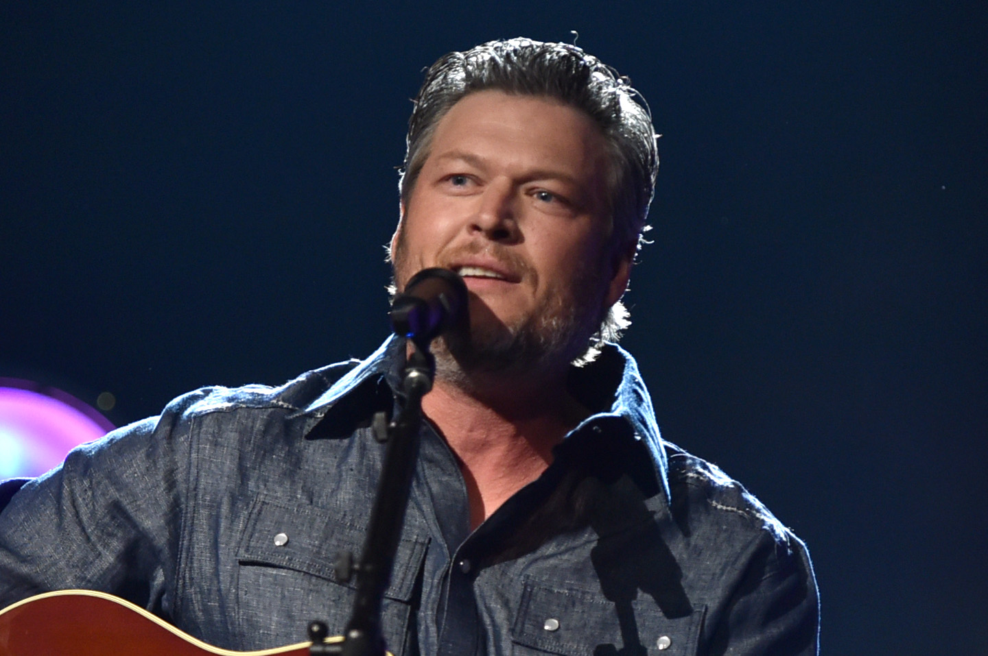 53rd Academy Of Country Music Awards - Roaming Show Blake Shelton