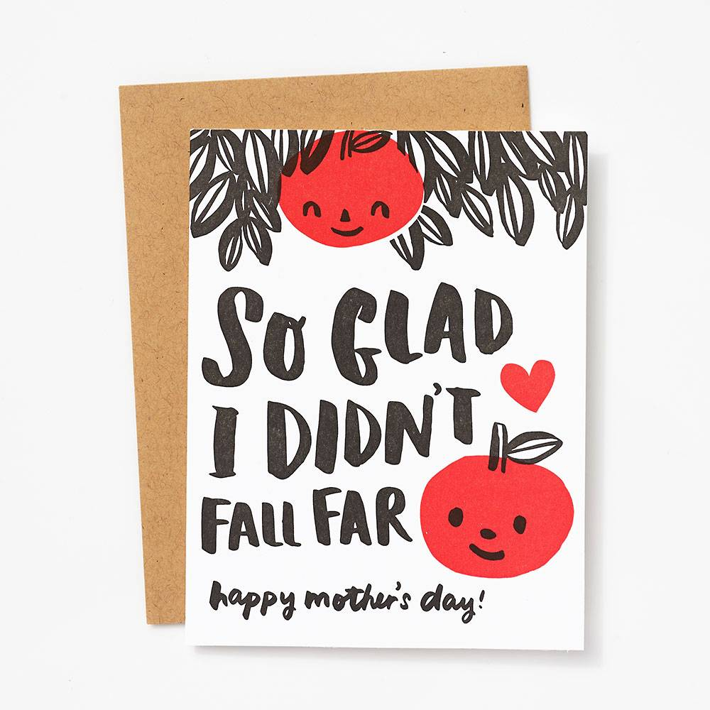 Apple Tree Mothers Day Card