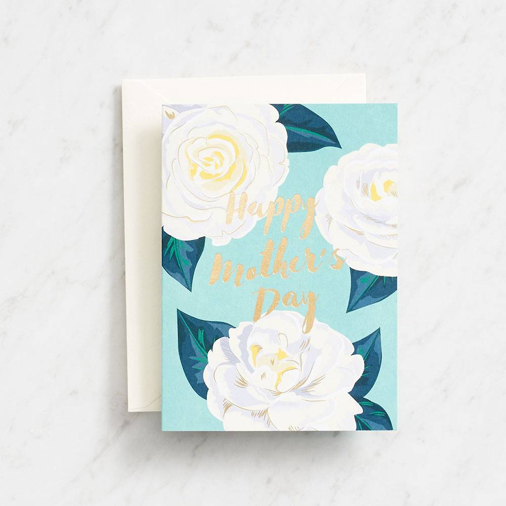 Camellia Mothers Day Card