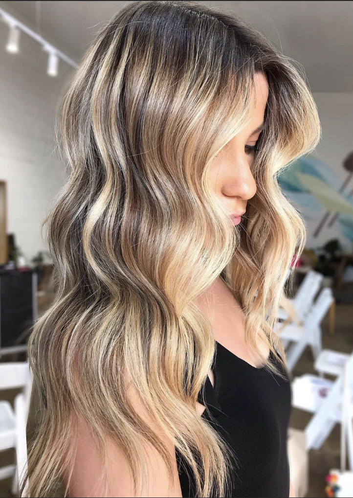Blonde Shadow Root