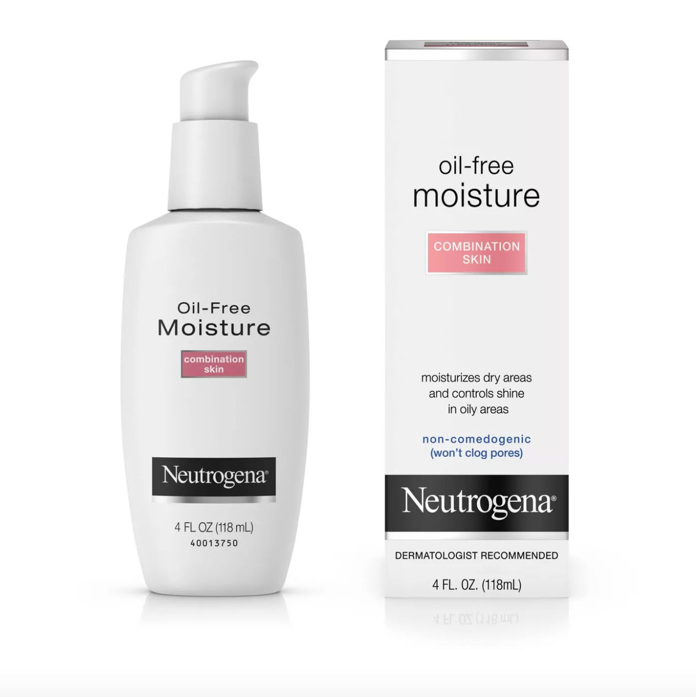 Neutrogena Oil Free Face & Neck Moisturizer for Combination Skin