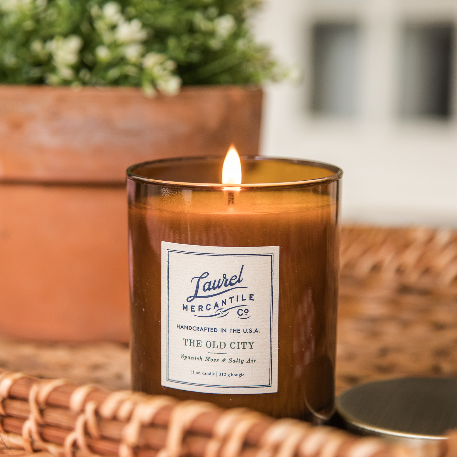 Laurel Mercantile New Candle