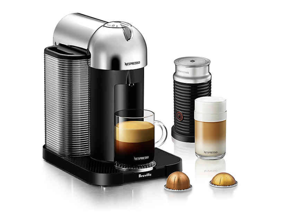 Breville Nespresso Coffee Machine with Frother