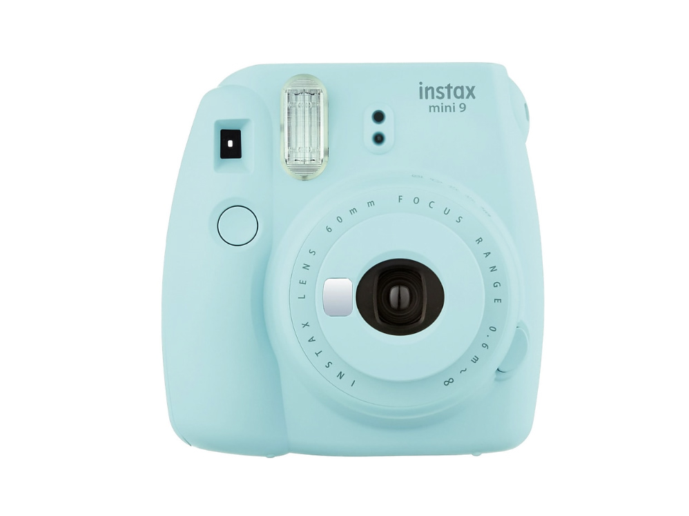 Ice Blue Instax Instant Camera