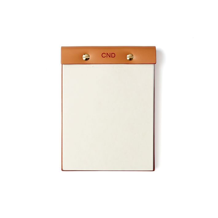Leather Desk Notepad