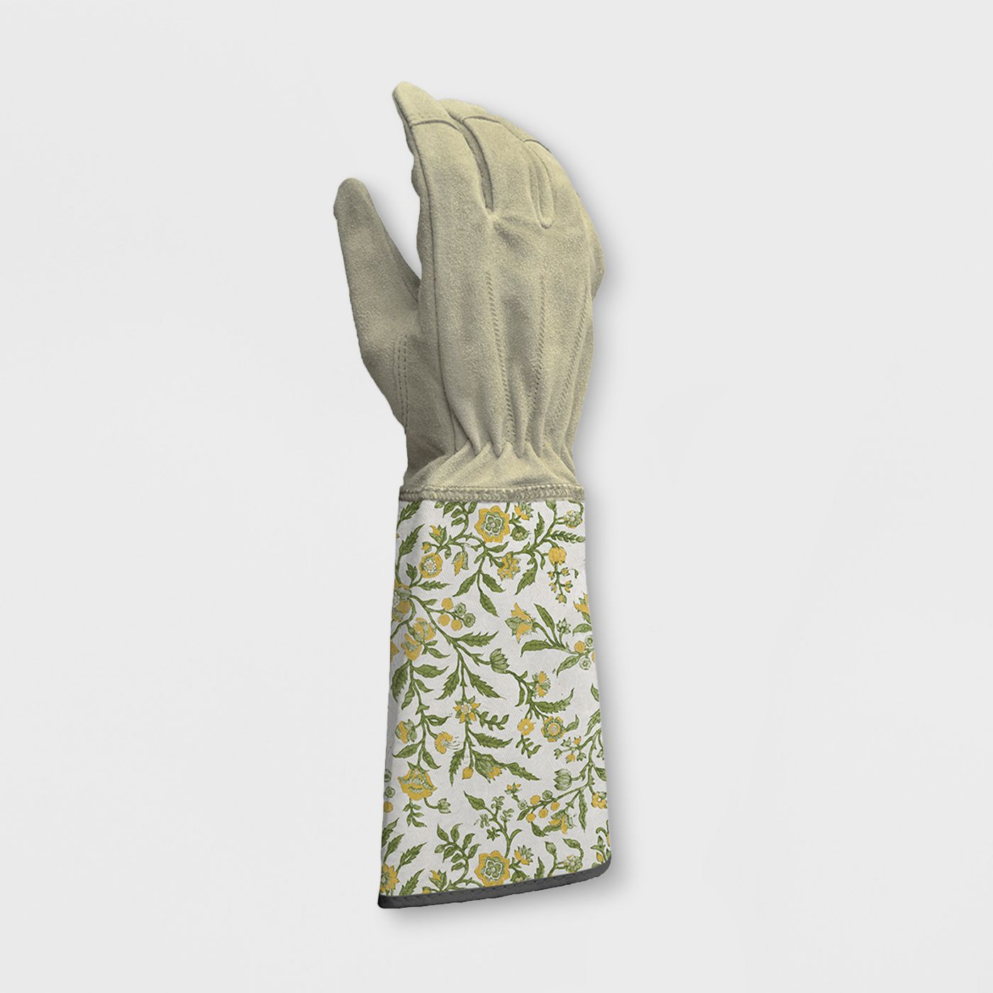 Floral Cotton Gardening Gloves