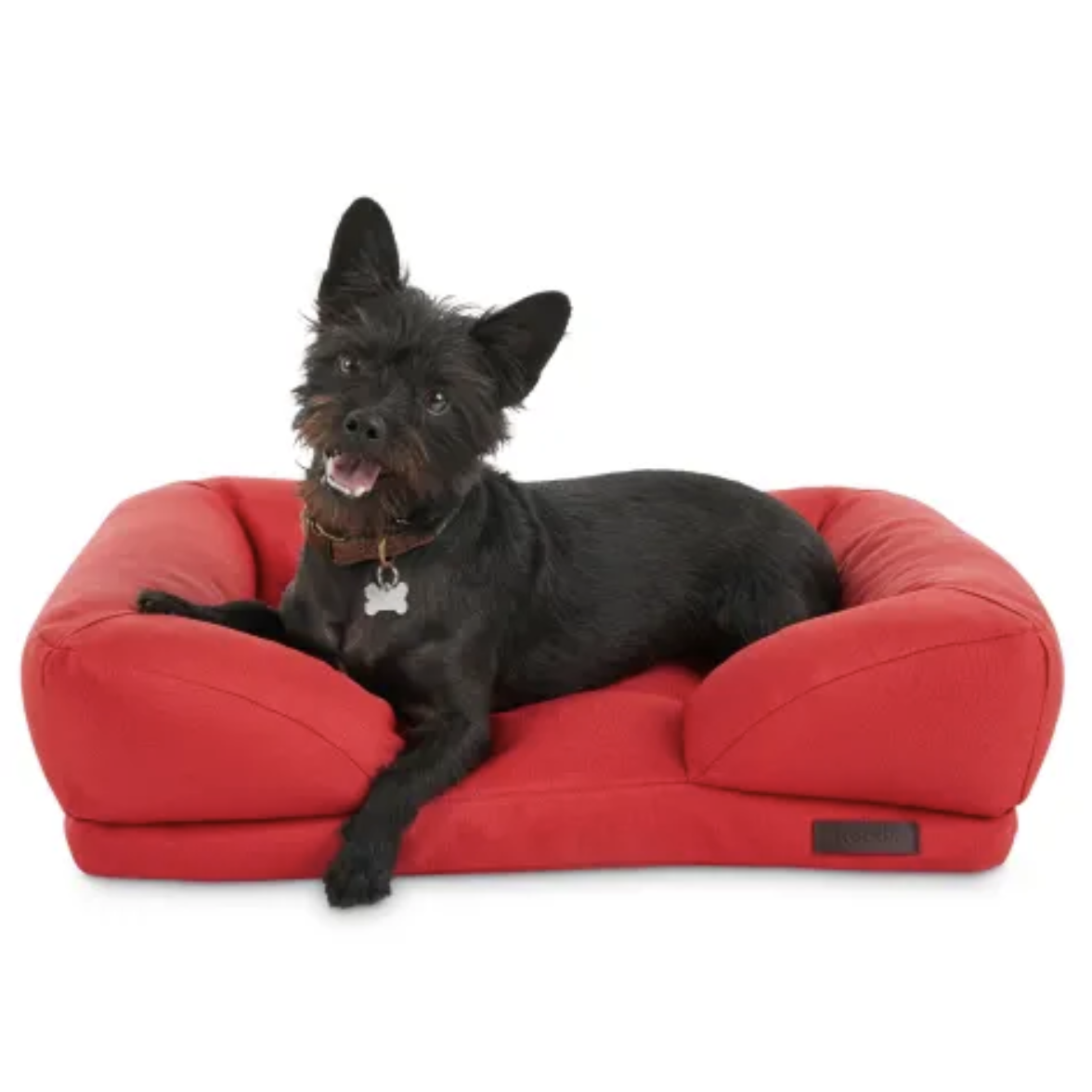 Outdoor Red Dog Bed