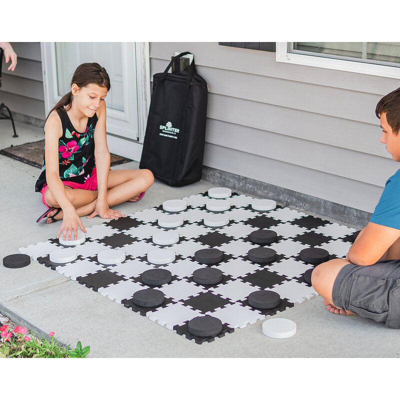 Checkers and Tic-Tac-Toe Set