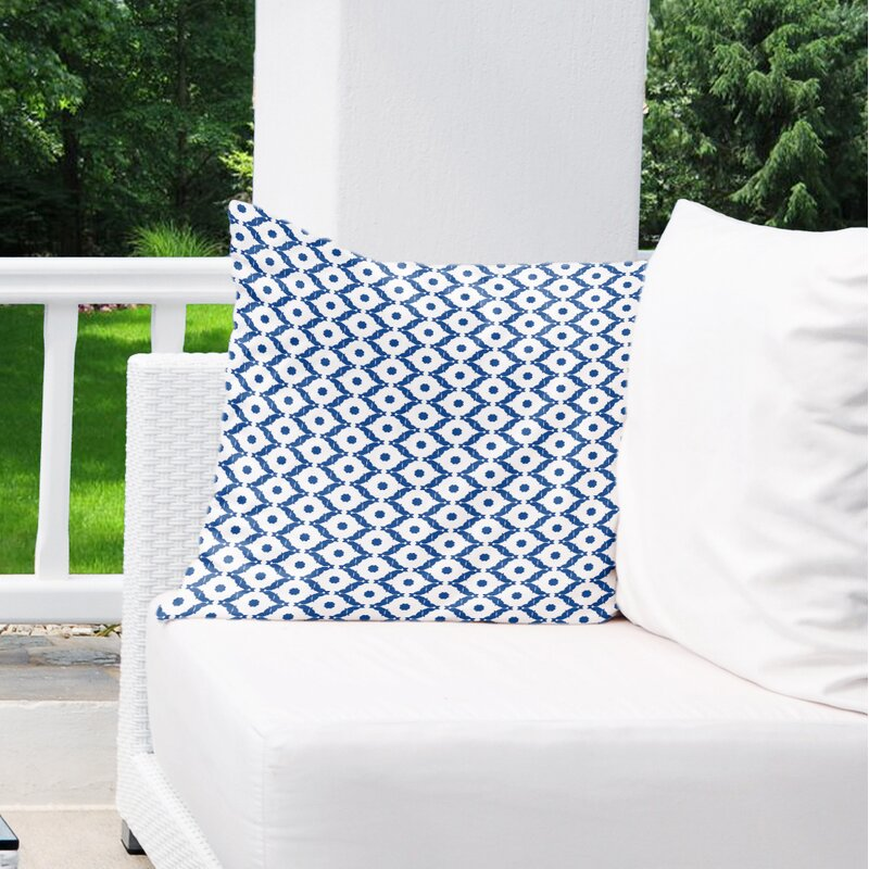 Make the porch swing extra cozy with a fluffy oversize Euro pillow.                                       BUY IT: $80; wayfair.com