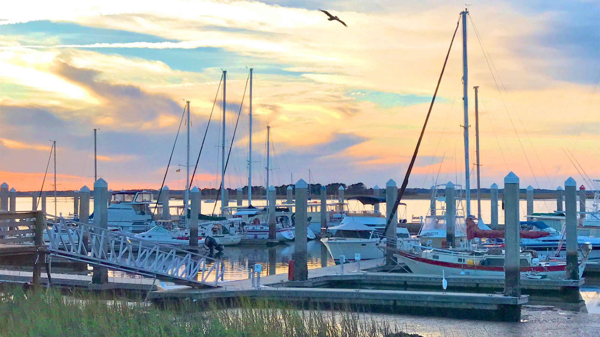 Fernandina Beach harbor