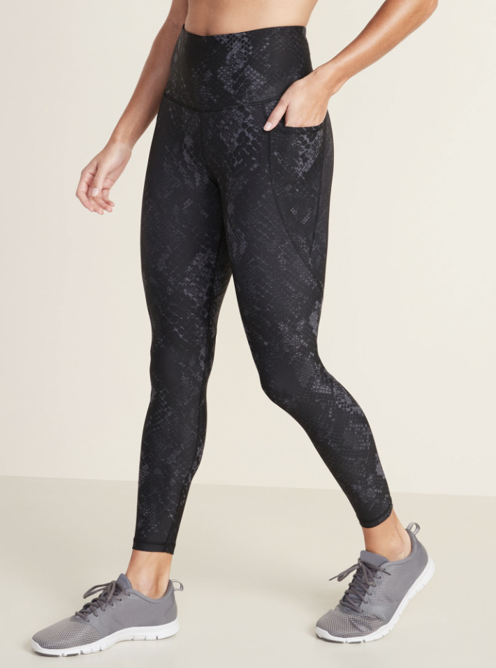 Old Navy Snakeskin Leggings