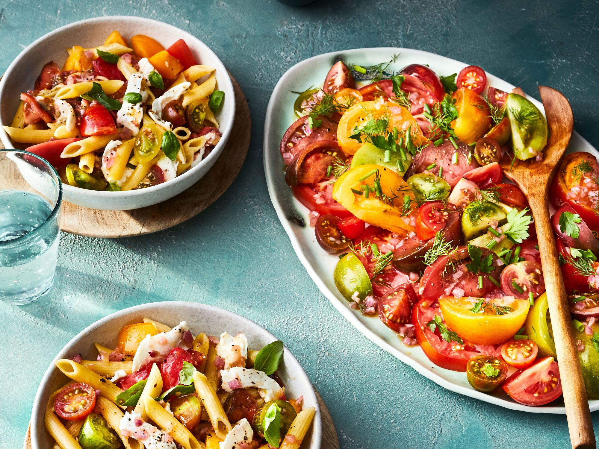 Marinated Tomato-and-Herb Salad