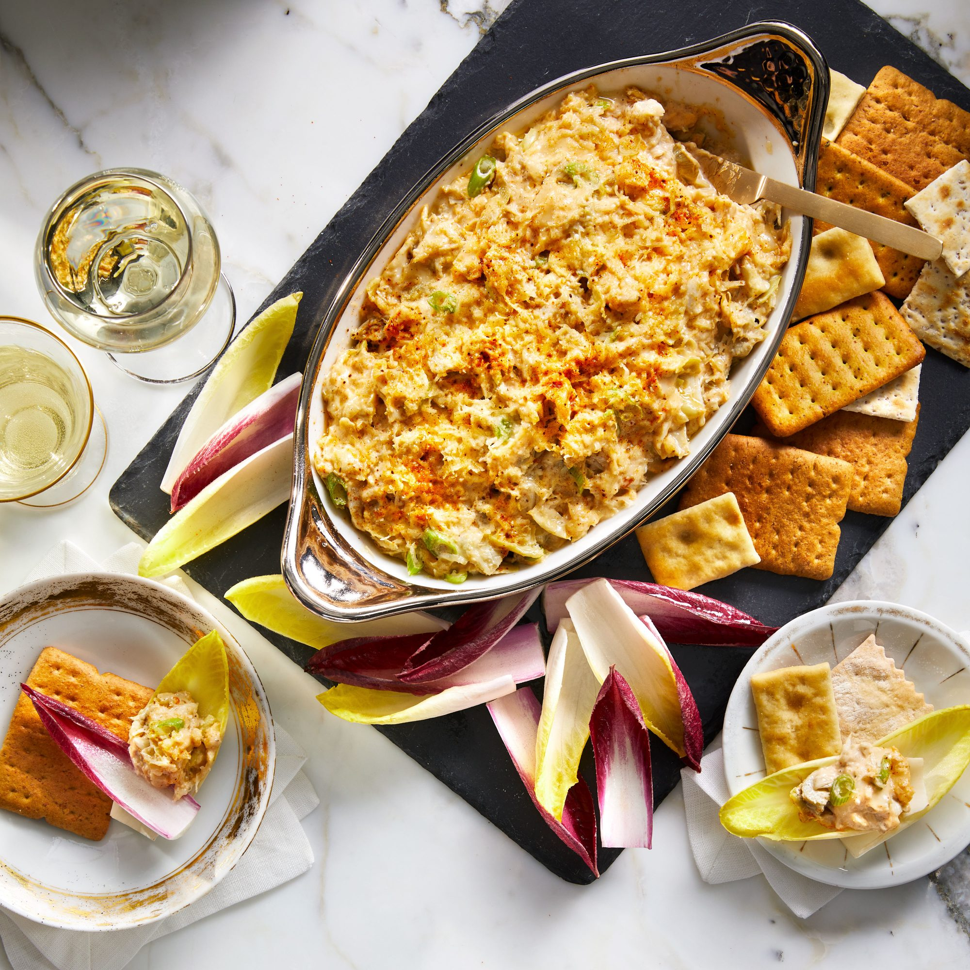 Hot Crab-and-Artichoke Dip