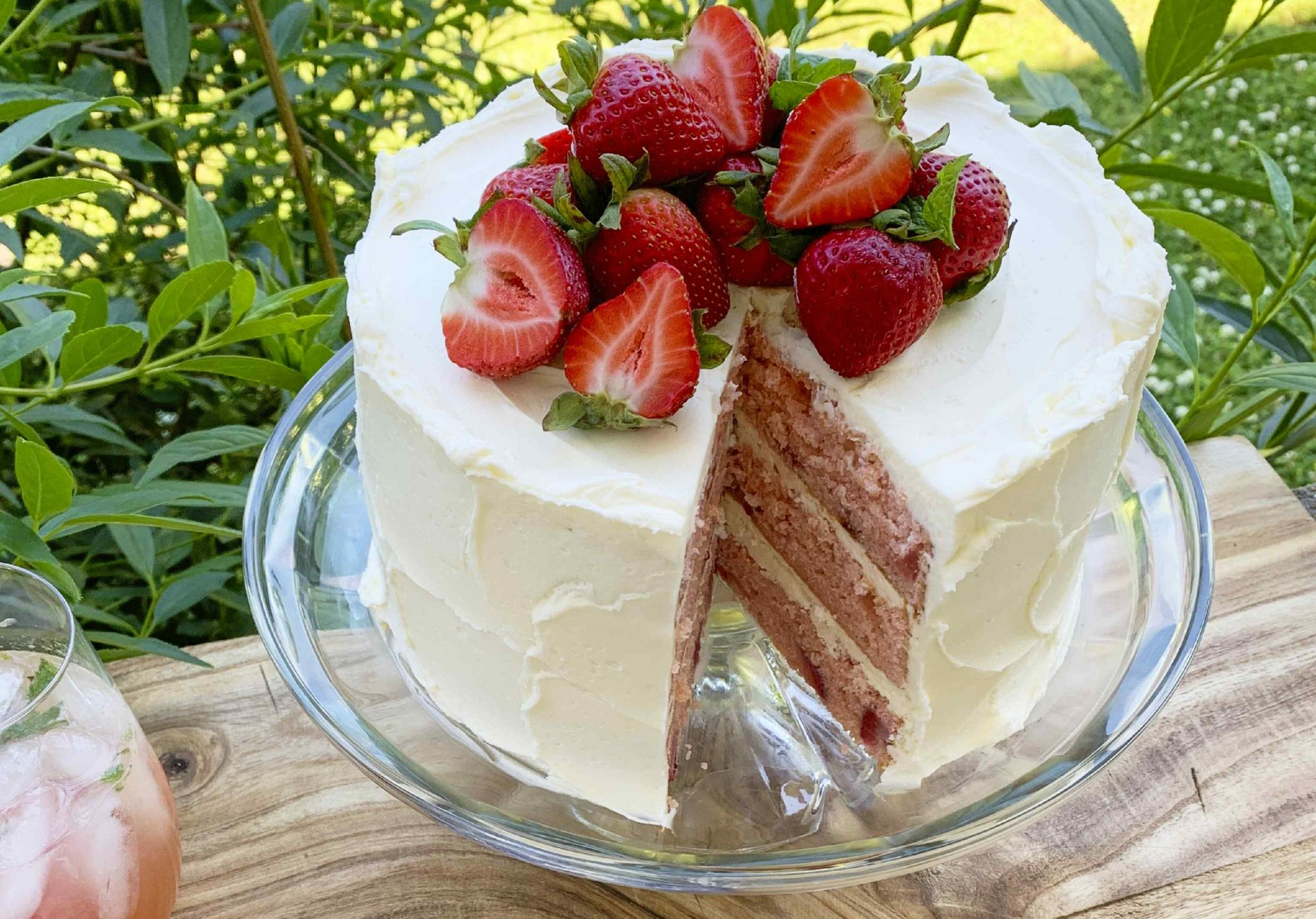 Strawberry Vanilla Cake Southern Living