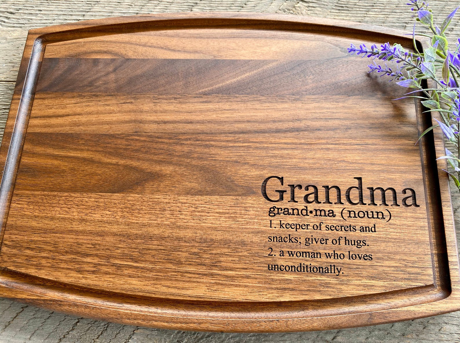 Grandma Definition Cutting Board