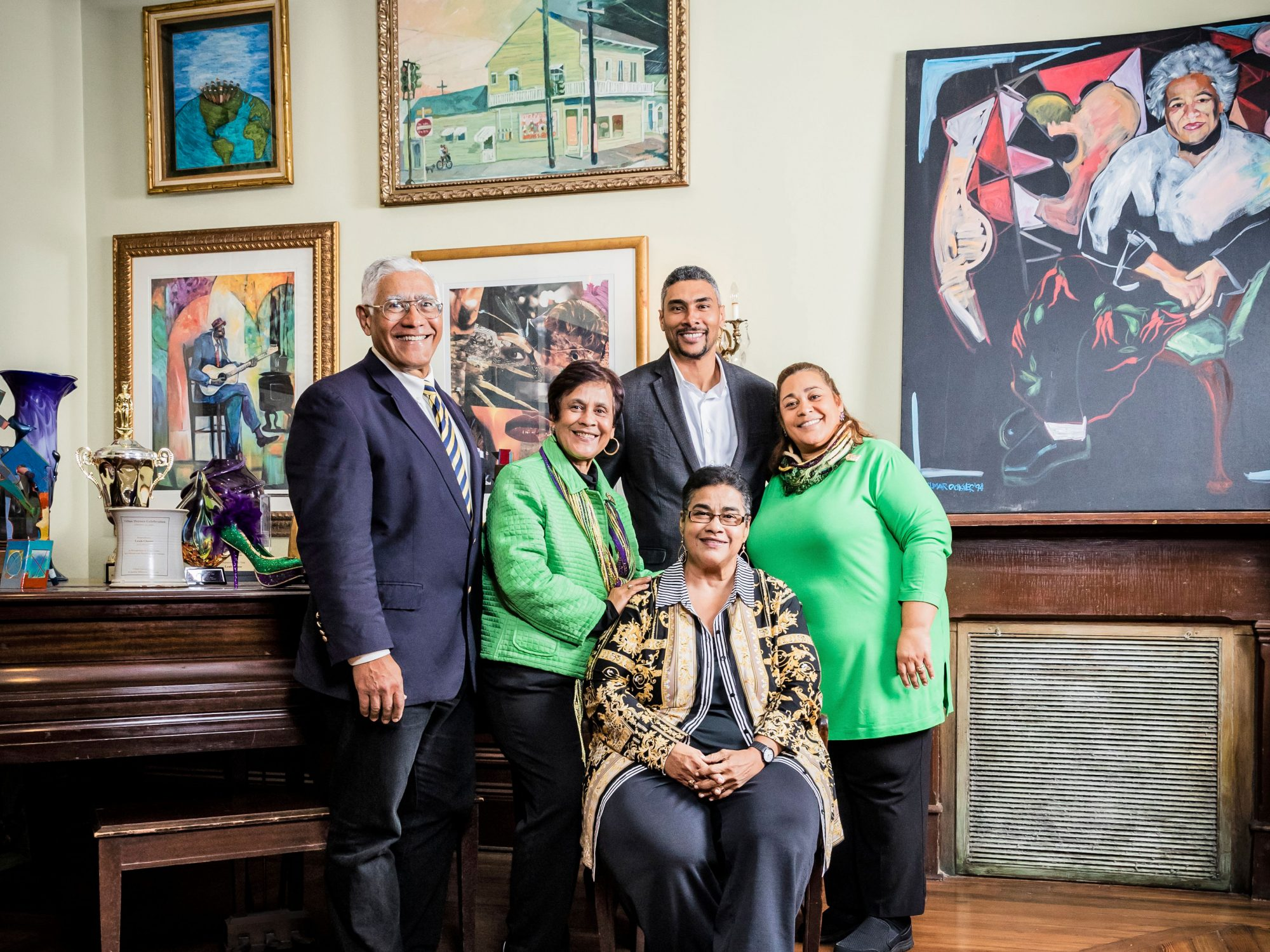 Family Members of Dooky Chase's Restaurant in New Orleans, LA