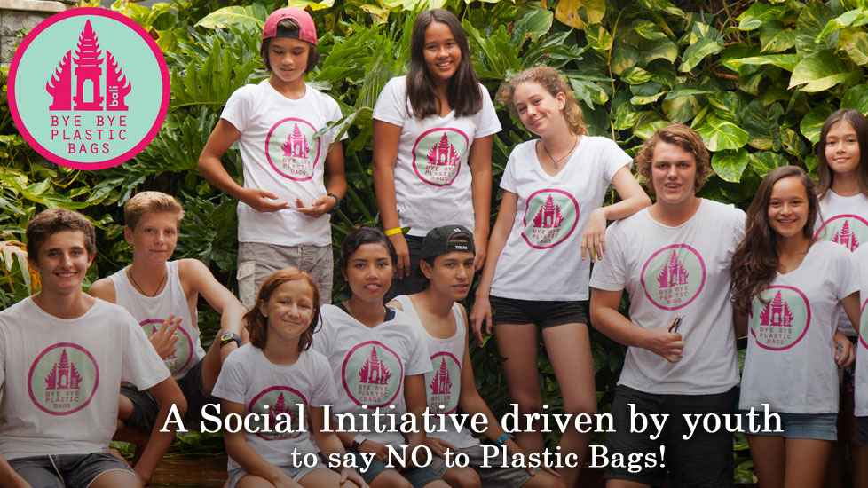 "Bali-based sisters Melati and Isabel Wijsen created this youth collective to develop programming for local kids to learn about pollution, participate in beach cleanups, and take a stand against public policies that are detrimental to our oceans. The sisters started Bye Bye Plastic Bags in 2013, and today the organization has a network of dozens of student volunteers around Bali who promote ""just saying no to plastic bags."" Learn more and help their cause at byebyeplasticbags.org."