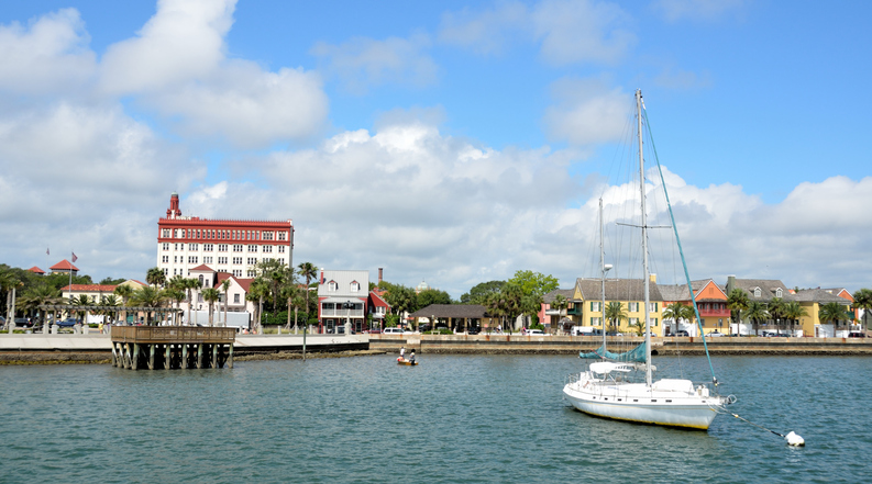 View of St. Augustine Riverfront