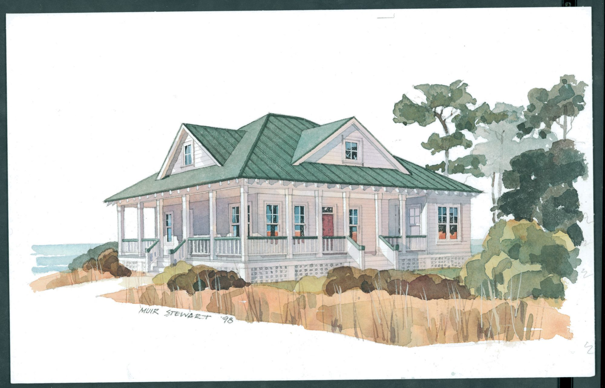 Versatility is the key to this plan. The den off the foyer could also serve as a home office or a sitting room. The family room, dining room, and kitchen have easy access to each other, creating a leisurely flow.                             Starting at $1,100; SL-292