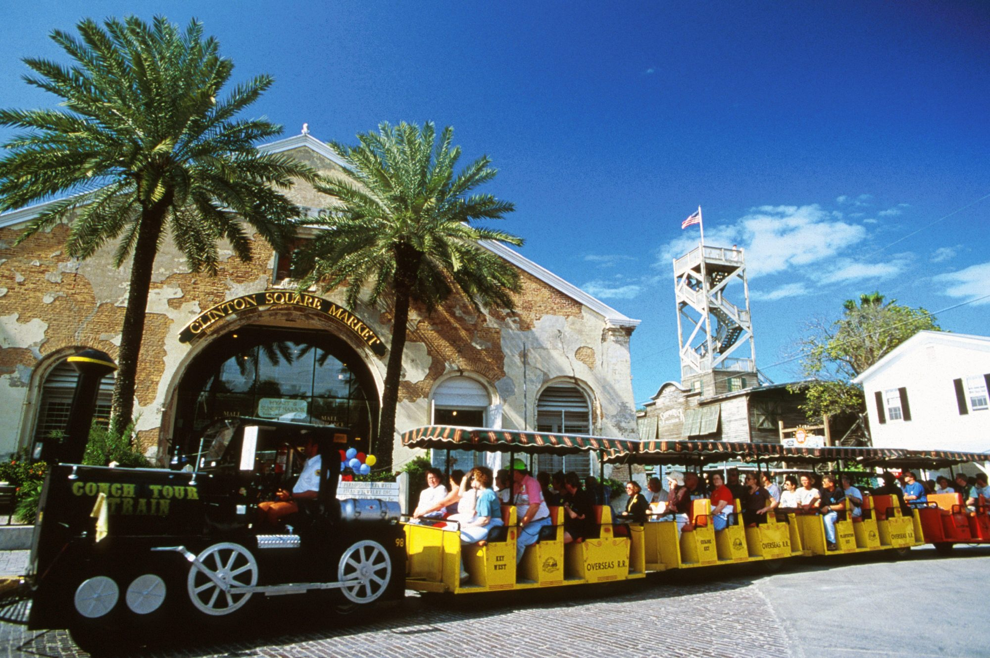 Perfect for families (kids 12 and under ride free!), the 90-minute Conch Train Tour has been introducing visitors to the unique aspects of Key West since the 1950s. The tour departs from the Front Street Depot, makes a loop through Old Town Key West, and