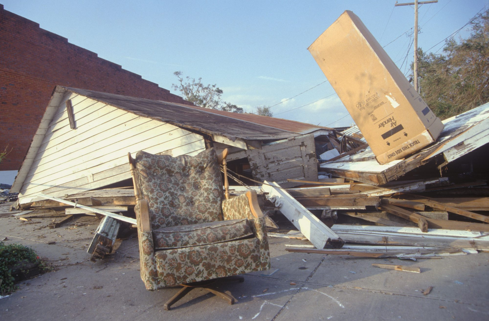 As a relatively small hurricane, Andrew still packed a punch: When it made landfall on Florida's southeastern coast, it was estimated to be a Category 5 hurricane, though it had weakened to a Category 3 by the time it hit Louisiana's coastline. What made Andrew dangerous were its extreme wind speeds. About 127,000 homes in Florida were damaged by these winds, leading to an estimated total cost of $26.5 billion, then the costliest natural disaster in U.S. history.