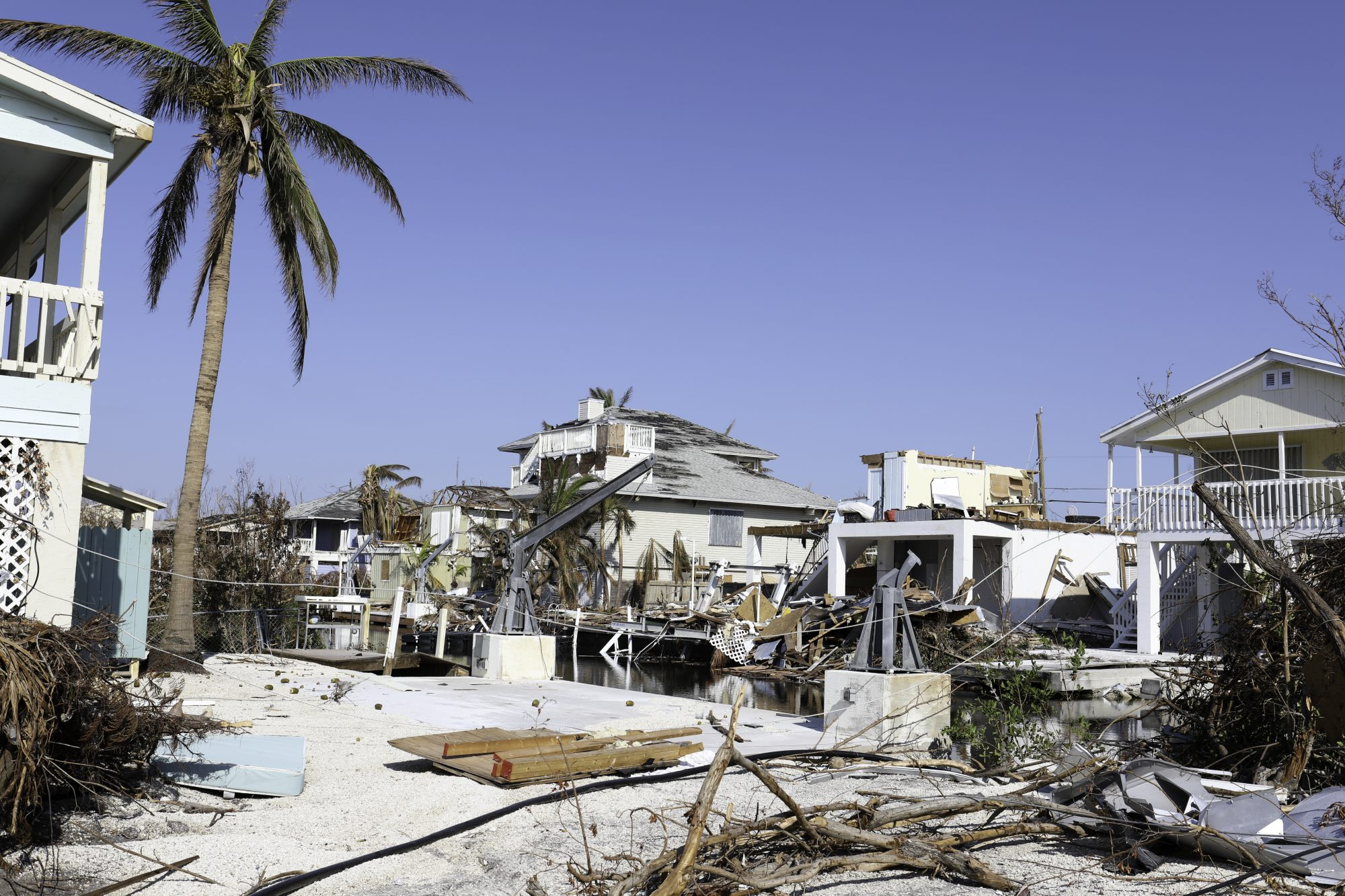 Hurricane Irma sustained itself for nearly two weeks, causing widespread—and devastating—damage throughout the Caribbean and the Florida Keys. The Category 5 storm peaked with 180 mph winds, decimating the islands of Barbuda, St. Barts, St. Martin, Anguilla, and the Virgin Islands. Irma caused $65 billion in damages, the second costliest Caribbean hurricane after Maria, and was 2017's top Google search term both in the U.S. and globally.