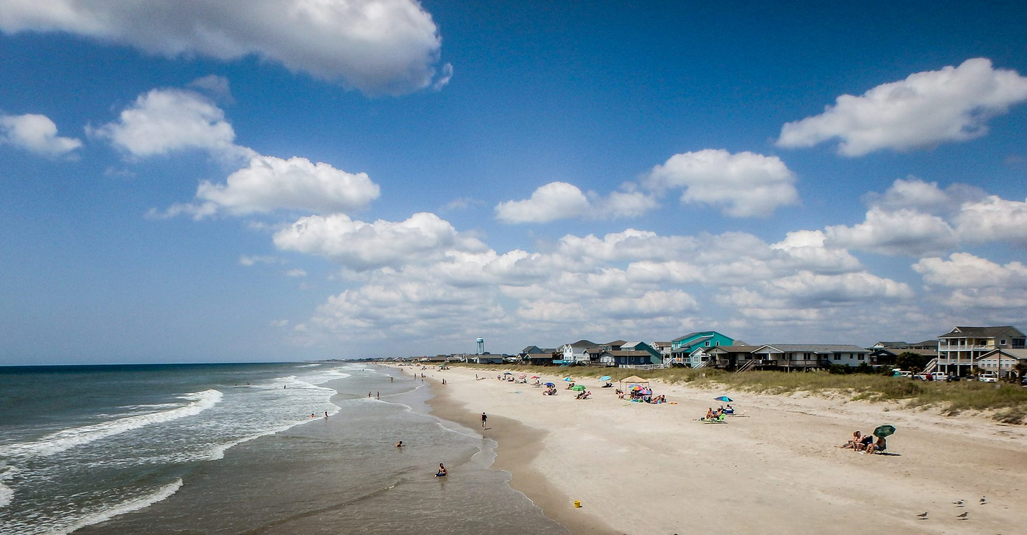 Named one of the best places to retire in North Carolina, this island near Wilmington has 10 miles of south-facing beaches, not to mention two fishing piers and nostalgic pleasures that include ice cream and miniature golf. Oak Island is also a dog lover's dream: Four legged friends are allowed on the beaches year-round, and they can be off the leash from October 16-March 15 from 6am to 8pm.