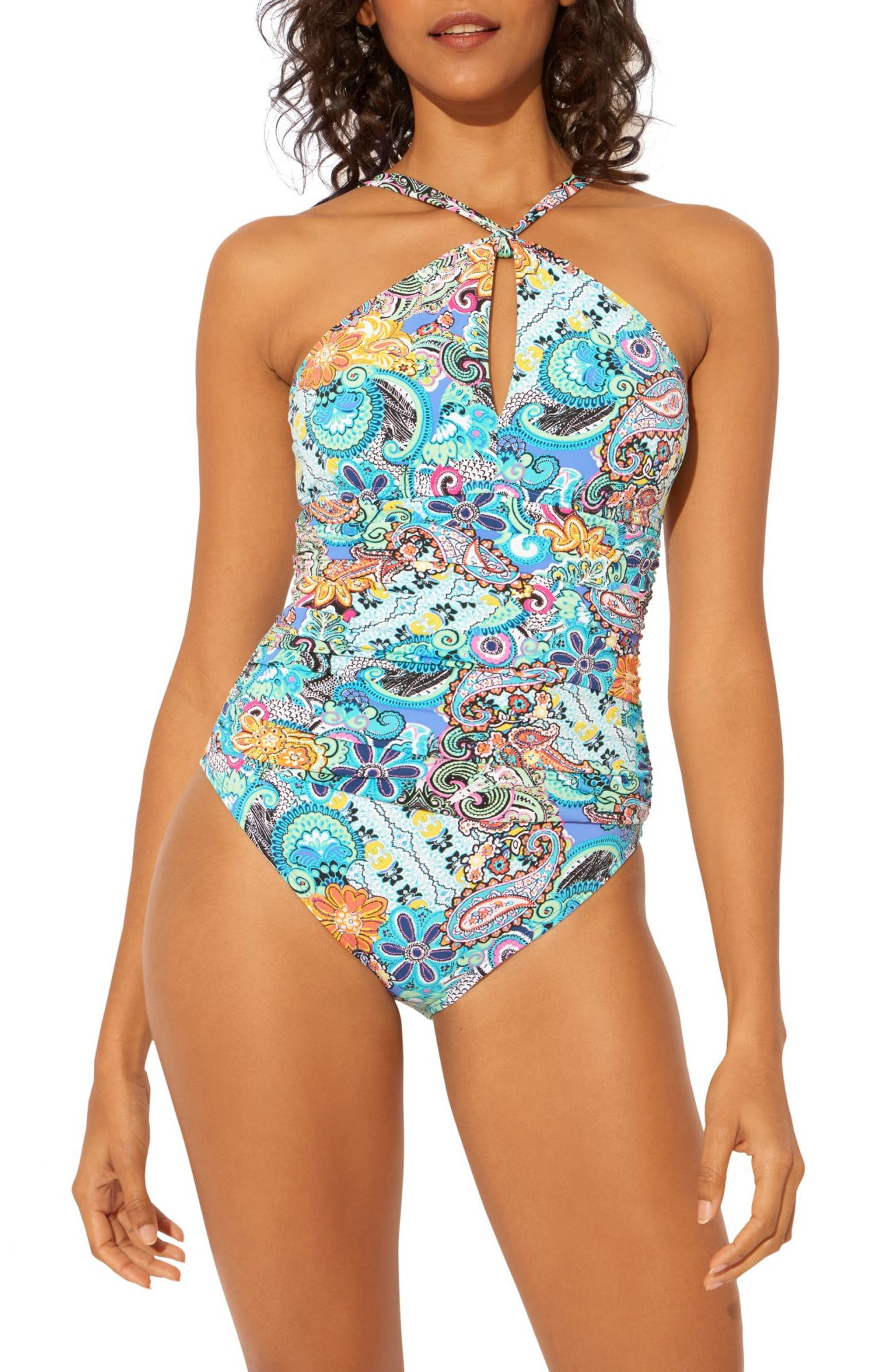 Bleu by Rod Beattie Let Loose One Piece Swimsuit