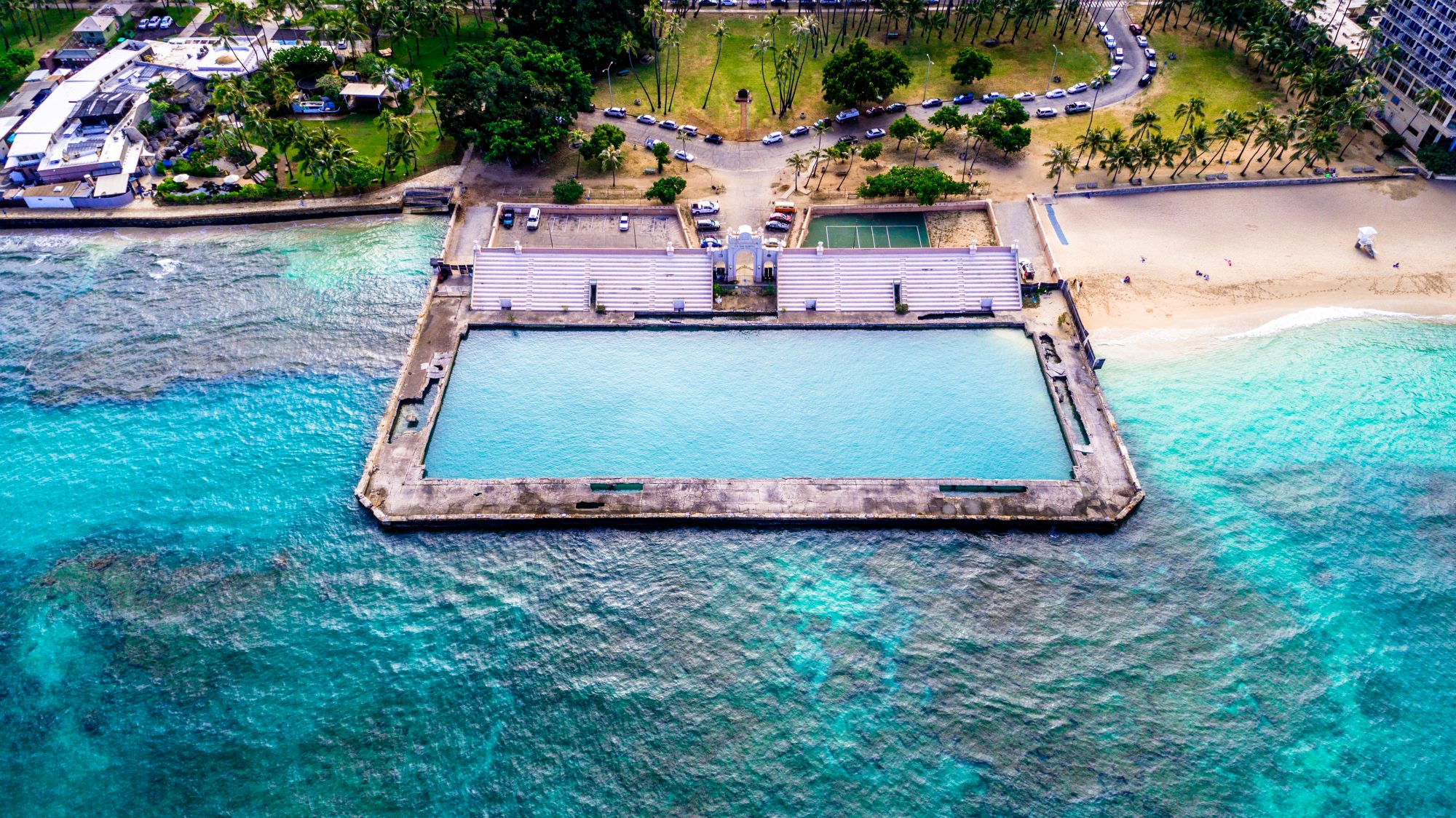 Waikiki Natatorium War Memorial Lagoon