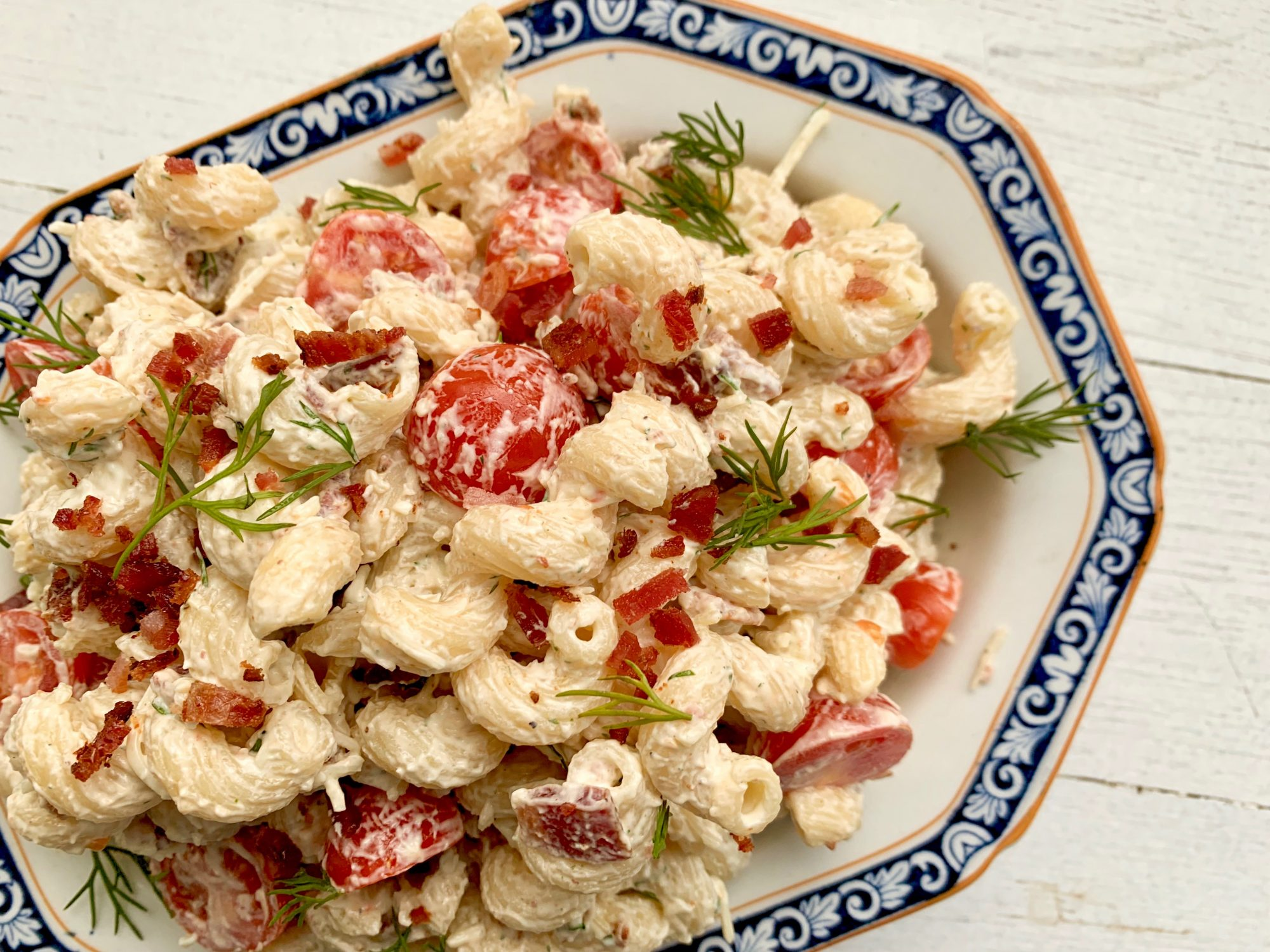 Bacon-Ranch Pasta Salad