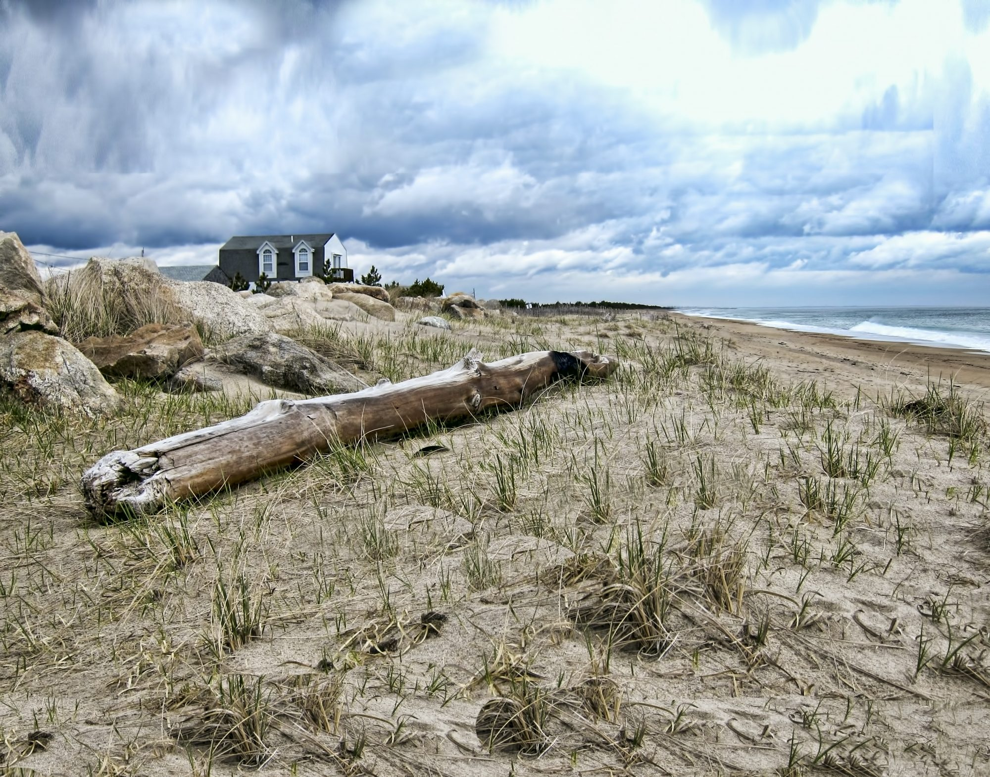 Even the nation's smallest state has a big stretch of beach open to off-road vehicles. East Beach is among the most remote places on the Rhode Island coast, a three-mile stretch of barrier beach separated from the mainland by Ninigret Pond and accessible