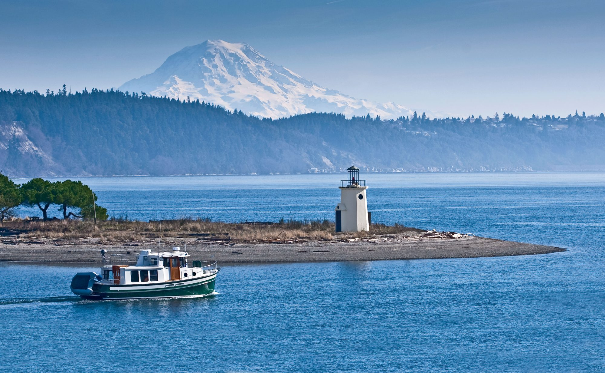 The views (both of the water and of Mt. Rainier) might be exactly what lure visitors to this charming fishing village on the Puget Sound. The Pacific Northwest gem is a boater's paradise and also a haven for retirees, with the highest ratio of retirement centers per 1,000 people than anywhere else in the country and 25 percent of the population made up of seniors.