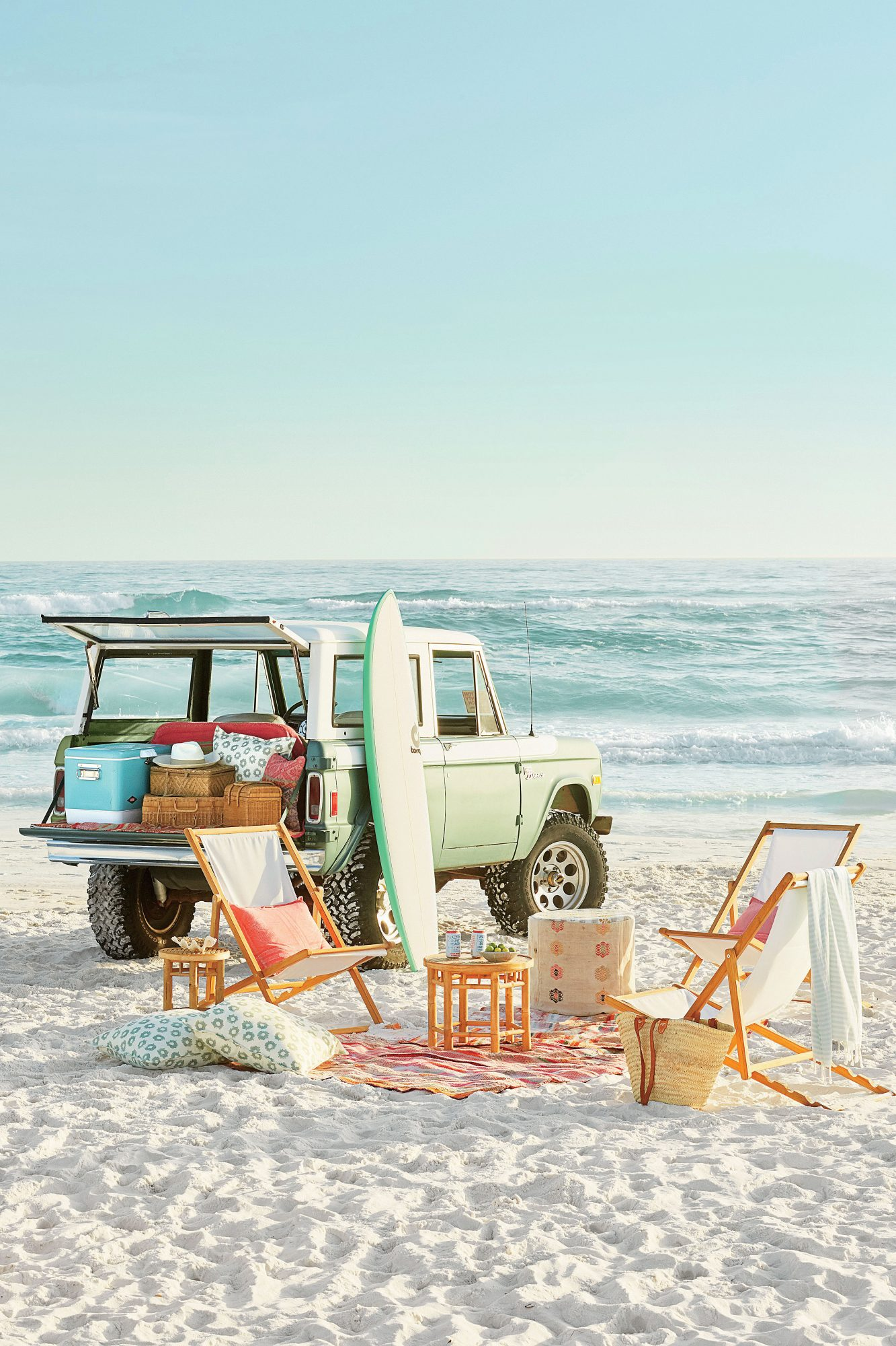 The sugar-white sands of Grayton Beach are set along Florida's iconic Highway 30A and adjacent to Grayton Beach State Park. It's a prime destination for fishing, boating, walking, gazing out into the turquoise waters of the Gulf, and yes—driving on the be