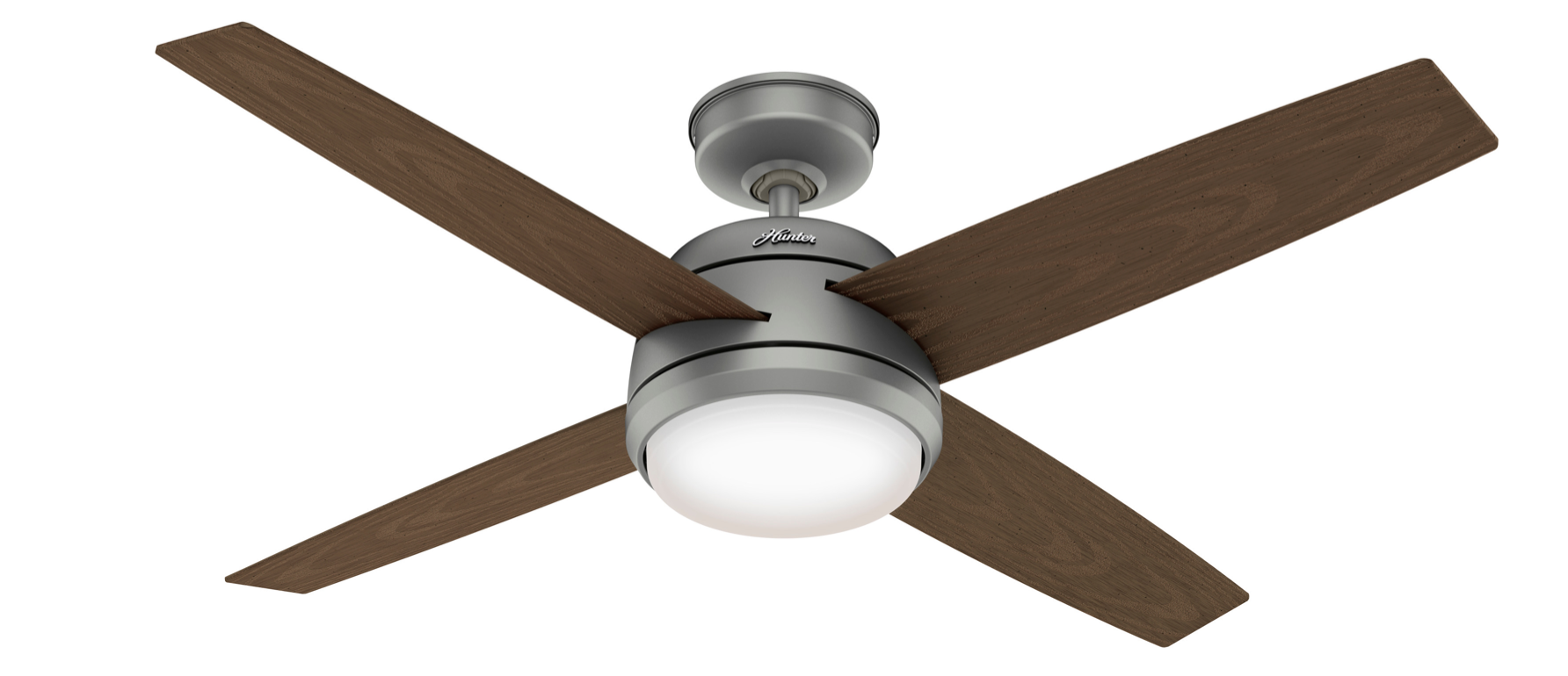 This durable fixture was built to withstand elements like rain and salt air.                                        BUY IT: $350; hunterfan.com