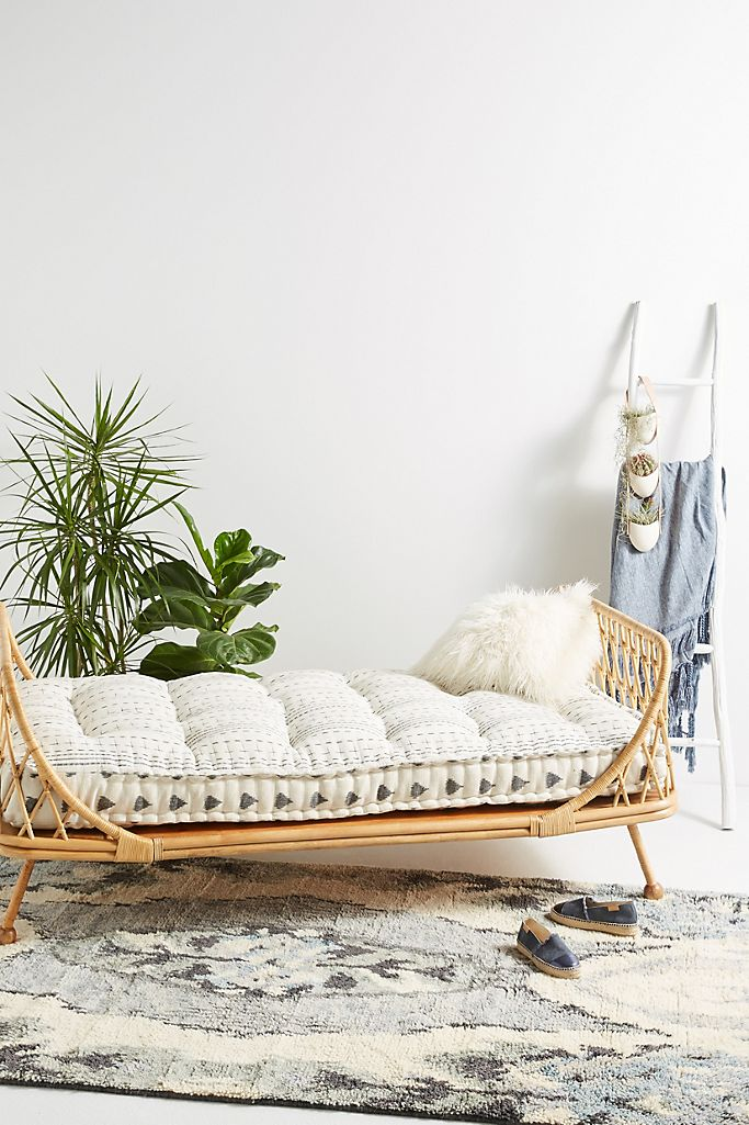 For the Sunroom: Pari Rattan Daybed