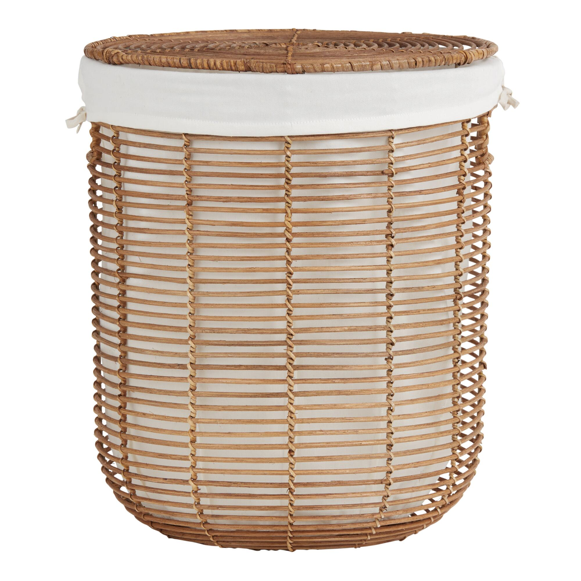 Natural Rattan Hayley Hamper
