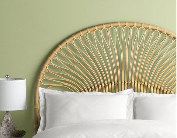 Natural Deloris Rattan Frame Headboard