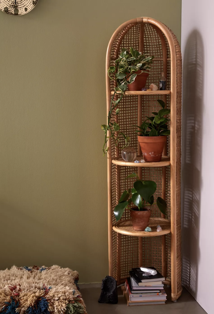 For Any Nook: Omera Corner Shelf
