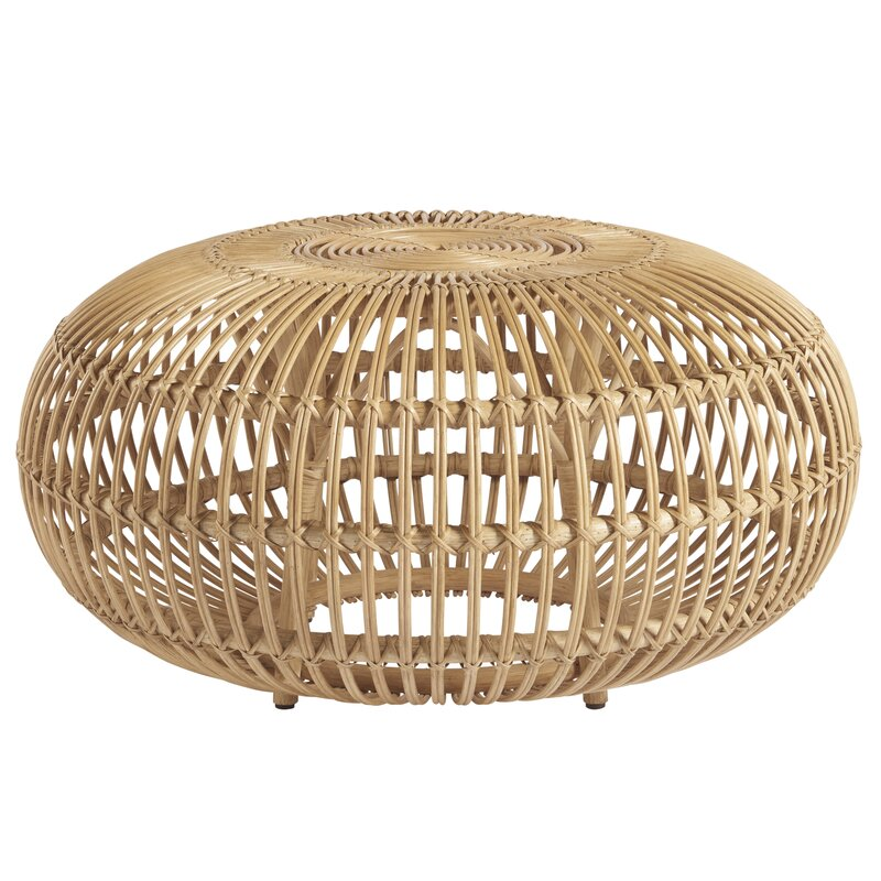 Coastal Living Rattan Coffee Table