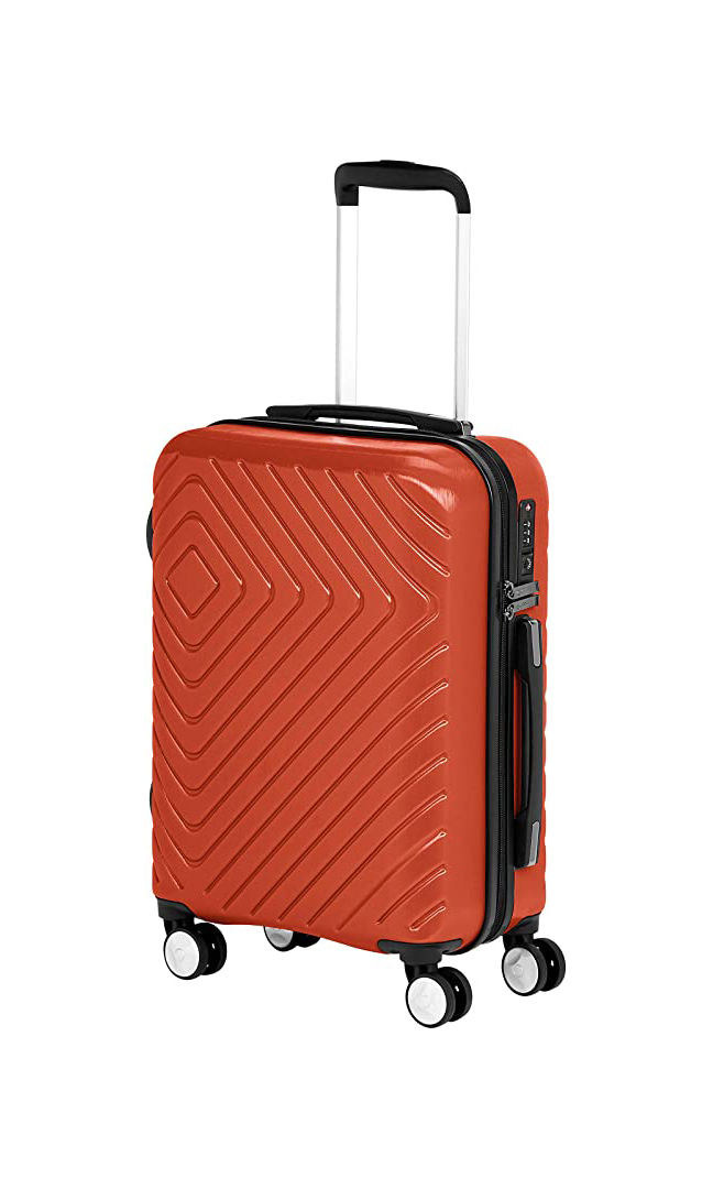 Carry-On Suitcase With Built-In Lock