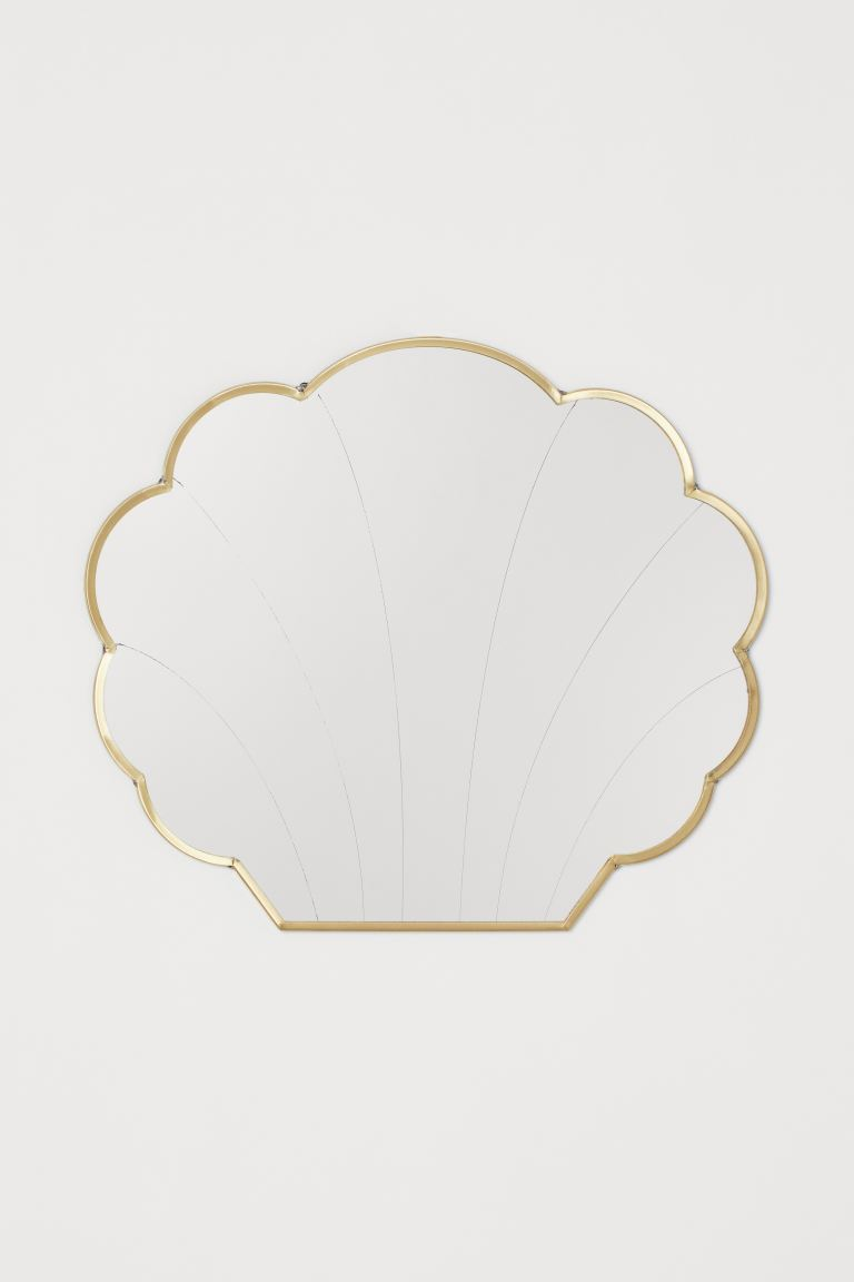 Shell-shaped Mirror