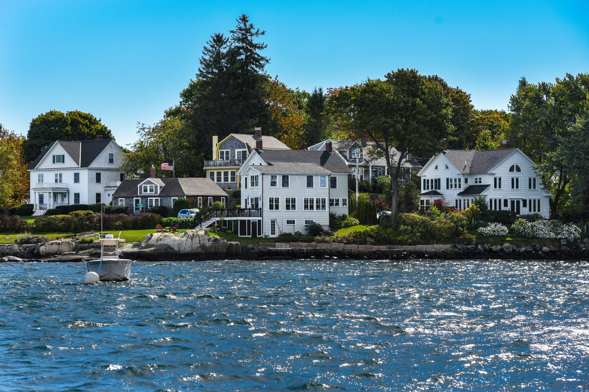 This tiny town at the mouth of the Piscataqua River is made up entirely of islands, adding a dreamy quality hard to find along the New England shore. And the Victorian luster of the Wentworth by the Sea hotel makes the setting all the lovelier.