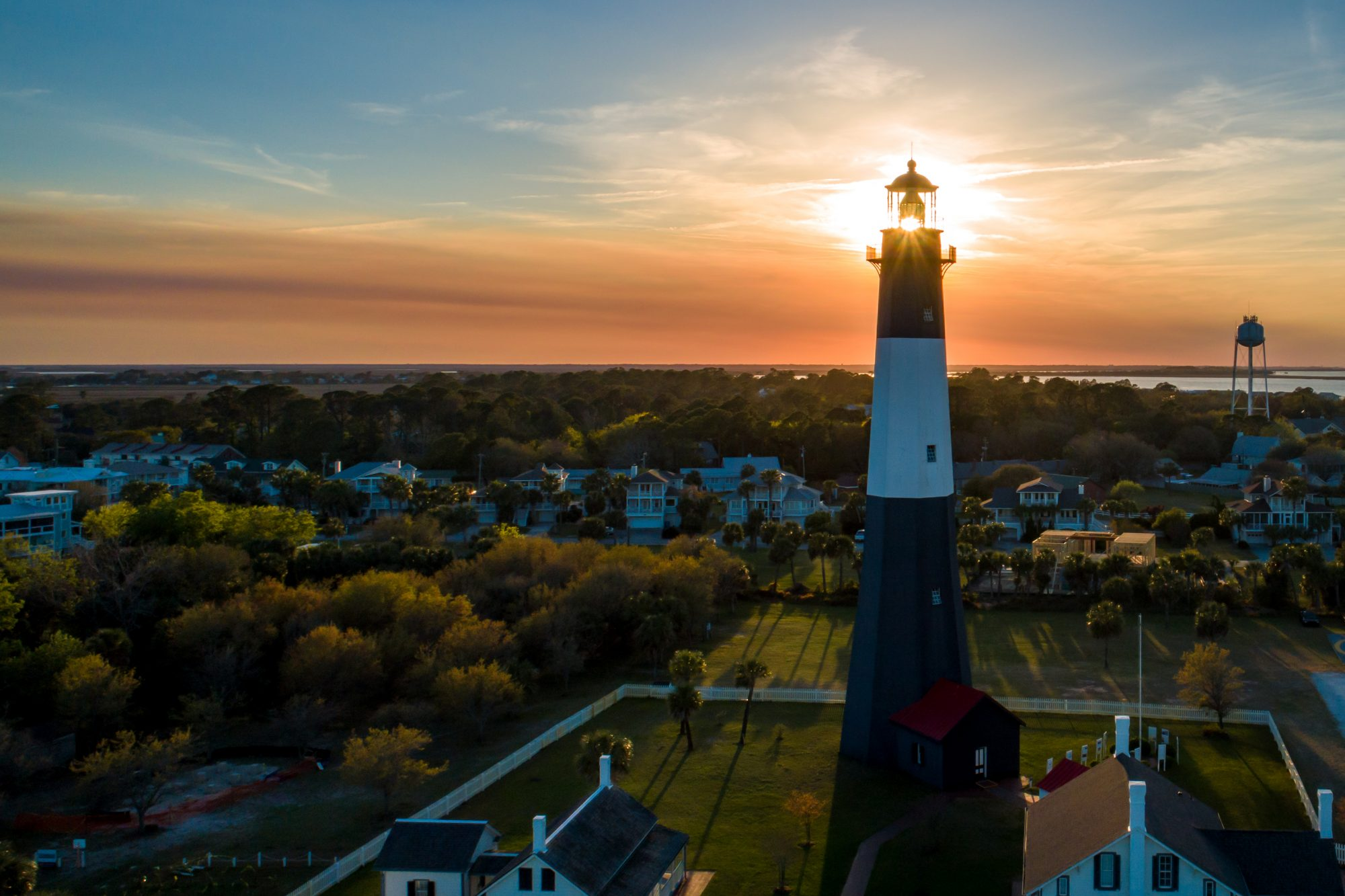 Named one of the Best Places To Live on the Coast in 2019, this barrier island beach town is a stone's throw from the myriad refinements of Savannah, offering the perfect complement: colorful and tiny cottages, seafood shacks, and miles of wide Atlantic-facing beaches.