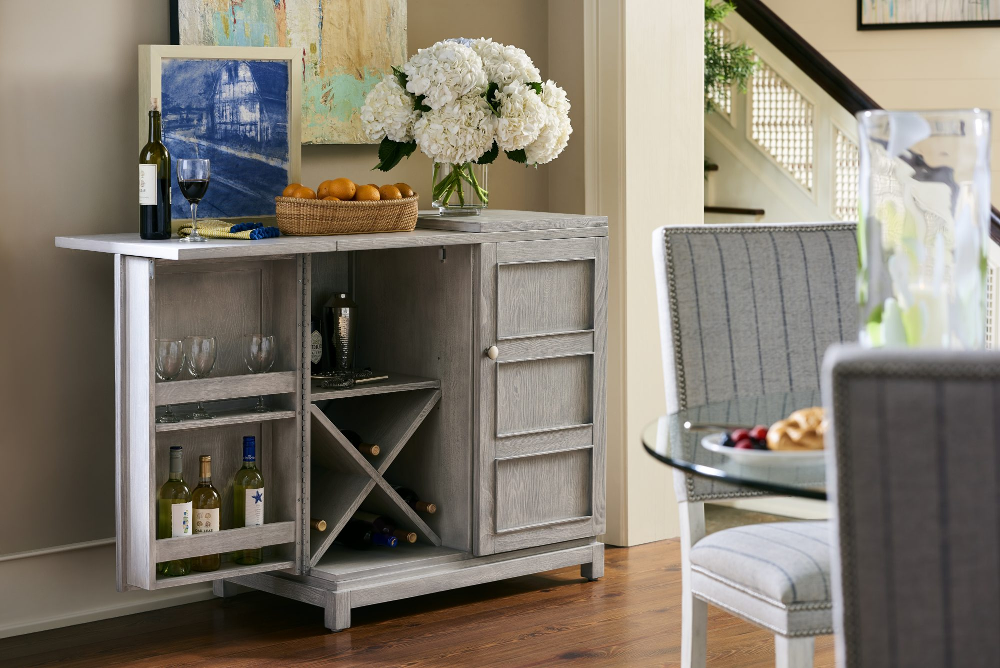 Bar cabinet from the Coastal Living Furniture Collection